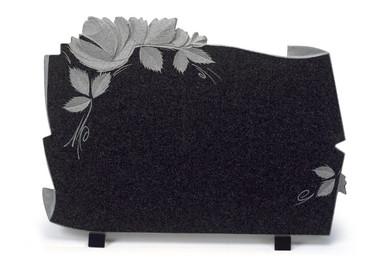 Plaques funéraires avec texte personnalisé