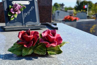 Vente d'articles funéraires