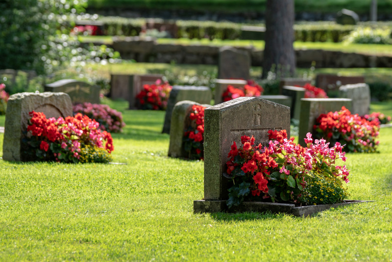 Quelles fleurs choisir pour un enterrement ?