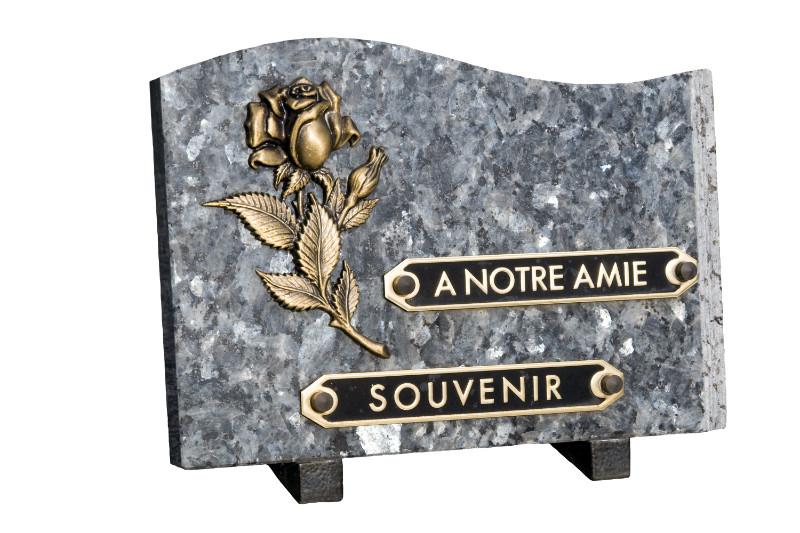 Vente de plaques funéraires